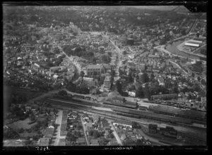 Apeldoorn luchtfoto 1920-1940
